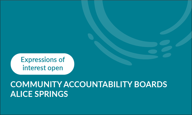 Join the Community Accountability Board on youth crime