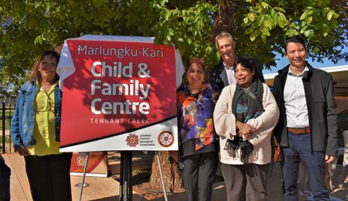 Marlungku-kari Child and Family Centre opens in Tennant Creek