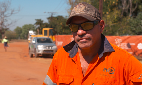 Coming home to Borroloola to work on housing