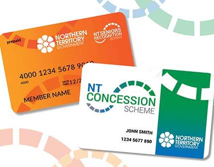 NT Concession Scheme / NT Seniors Recognition Scheme