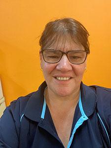 Sharon Freeman, netball volunteer