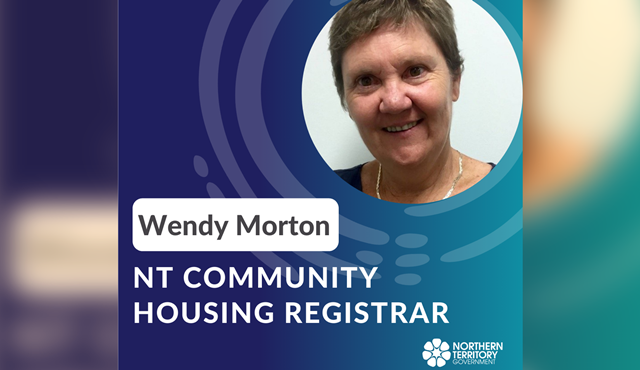 Wendy Morton appointed as NT's Registrar for Community Housing