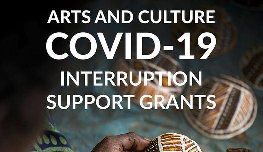Arts and Culture COVID-19 Interruption Support Grants social tile - internet