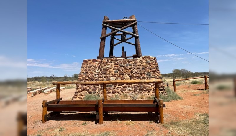 Well reconstruction gives insight into 19th century Central Australia