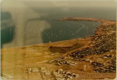 Marina study aerial photo of Vesteys Beach